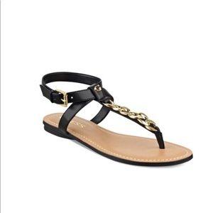 Guess gurri flats sandals